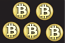 Bitcoin gold stickers
