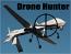 Drone Hunter sticker