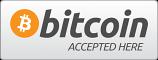 Bitcoin Accepted Here bumper sticker